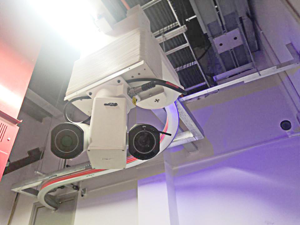 达可益巡检机器人助力武汉某开闭所进入智能巡检时代